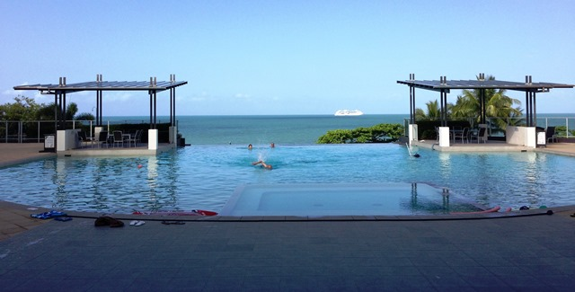 Swimming Pool Overlooking the Coral Sea