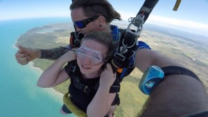 Gliding Over The Great Barrier Reef