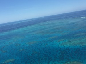 Helicopter Scenic Flight Over The Great Barrier Reef | North Queensland