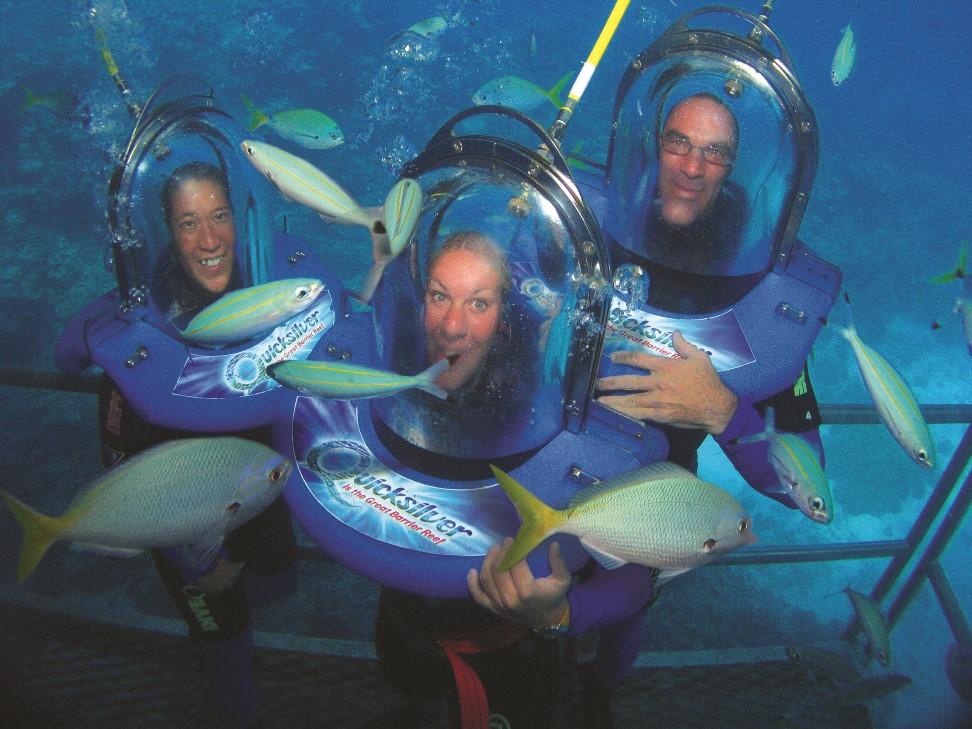 Helmet Diving - Oceanwalker With Quicksilver Cruises