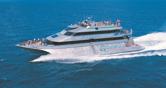 Quicksilver Cruises Boat - Wavepiercer
