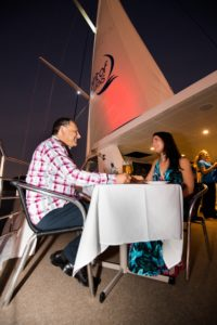 Dining Under the Sail and the Stars