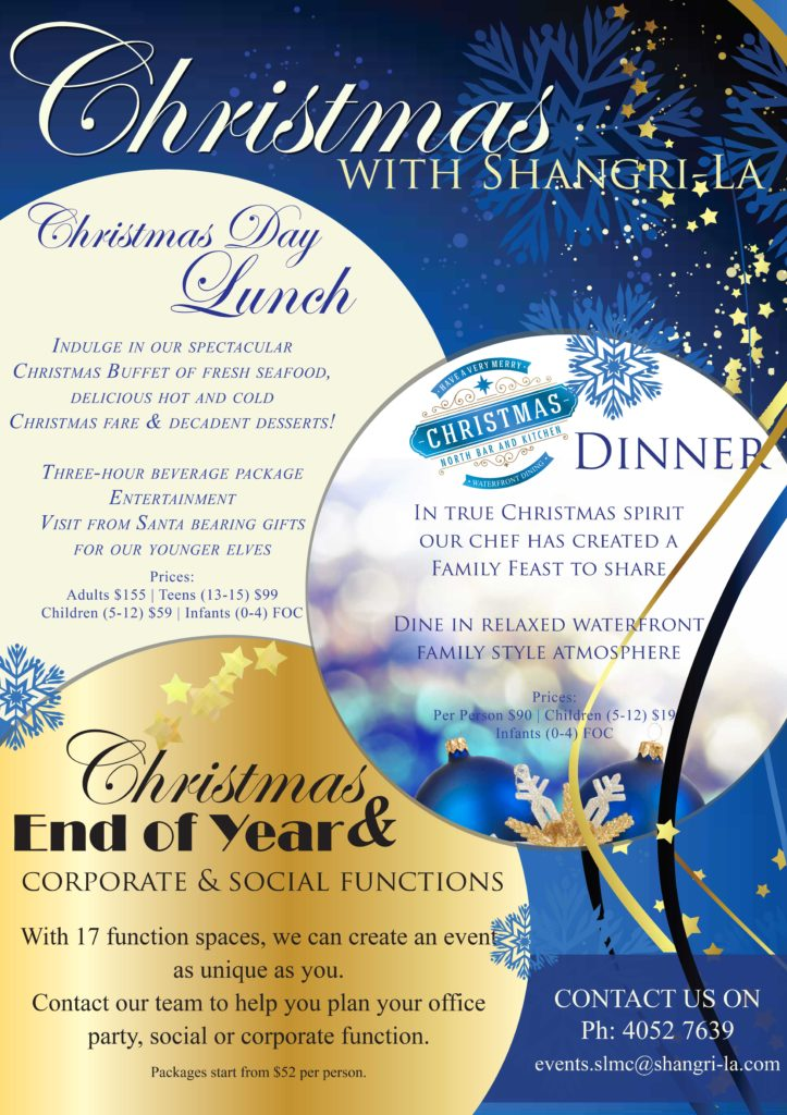 Christmas with Shangri-La Hotel Cairns