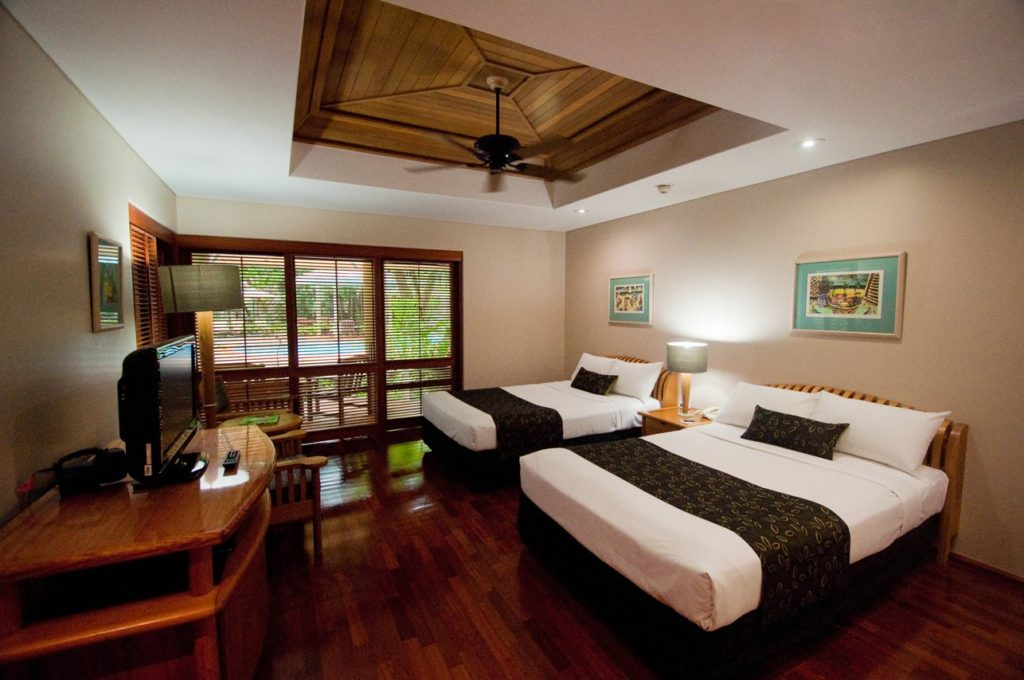Island Twin Room at Green Island Resort. Image courtesy of Green Island Resort.