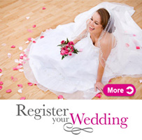 Register Your Wedding Promo