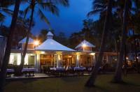 Beachfront Restaurant at Night