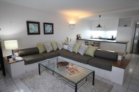 Spacious Living Room and Kitchen Facilities - Alamanda Palm Cove Resort