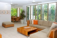 Open plan and spacious Living Areas - Sanctuary Palm Cove Apartments