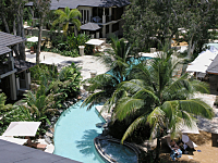 The Lagoon Swimming Pool within the Sea Temple Resort complex Palm Cove