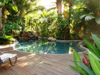 Tropical Swimming Pool (Heated in Winter) -  Palm Cove Tropic Apartments