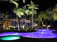 Lagoon Pool by Night