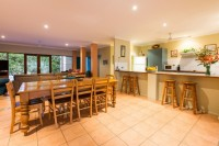 Spacious Dining, Living and Kitchen areas - Palm Cove Holiday Home