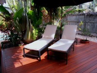 Relax on the Outdoor Deck - Palm Cove Holiday House