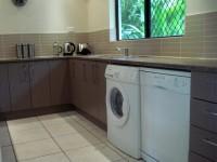 Dishwasher and Washer Dryer in Kitchen