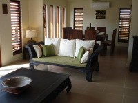 Open plan Lounge and dining - Palm Cove Holiday Villa