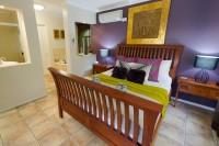 Master bedroom with ensuite spa bath