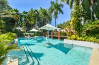 1 of 3 Swimming Pools to enjoy during your Palm Cove Beachfront holiday
