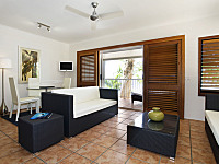 Modern Living and Dining Areas in Suites -  Paradise On the Beach Resort Palm Cove