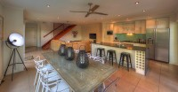 Open plan living and dining area - Palm Cove Holiday House