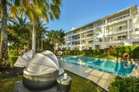 Beachfront Swimming Pool 1 of 3 Pools - Palm Cove Private Apartment within Alamanda