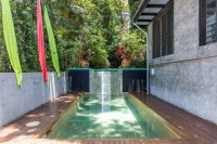 Enjoy a private Spa or Swim in your private Swimming pool - Celadon Palm Cove Holiday House