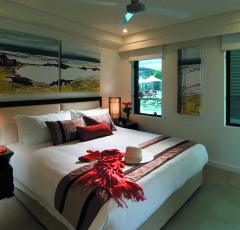 1 Bedroom Apartment - Bedroom at Pullman Sea Temple Resort & Spa Port Douglas
