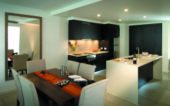 1 Bedroom Apartment - Kitchen & Dining at Pullman Sea Temple Resort & Spa Port Douglas