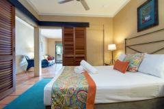 1 Bedroom Apartment Bedroom  - Villa San Michele Apartments Port Douglas