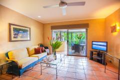 1 Bedroom Apartment Lounge - Villa San Michele Apartments Port Douglas