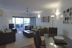 1 Bedroom Apartment Living area - Port Douglas Beach Terraces
