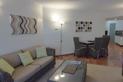 1 Bedroom Living & Kitchen  at Beach Terraces Port Douglas