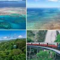 1 Day Combo Scenic Flight & Kuranda Village