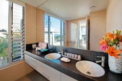 1 of 2 Bathrooms - Mission Beach Holiday Apartment