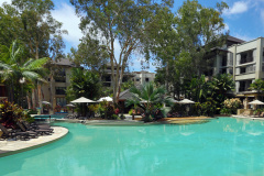 1 of 3 Swimming Pools at Sea Temple Palm Cove Private Apartments | Beachfront Accommodation