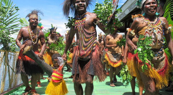 12 Night Cruise To Papua New Guinea | Welcome To Jayapura