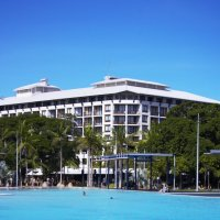 Mantra Esplanade directly opposite the Cairns Lagoon!