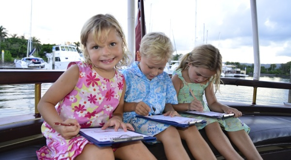 1.5 Hour Calm Water River Cruise From Port Douglas | Children Activity Sheet