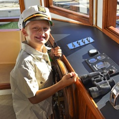 1.5 Hour River Cruise From Port Douglas | Children Can Drive The Boat