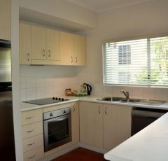 2 Bedroom 2 Bathroom Kitchen at Beach Terraces Port Douglas