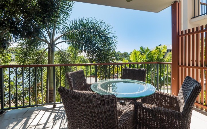 2 Bedroom Apartment Balcony - Blue Lagoon Resort Trinity Beach