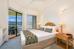 2 Bedroom Apartment Master Bedroom - Tropic Towers Apartments Cairns