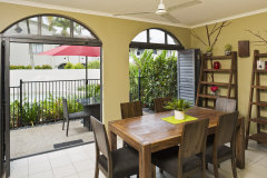 2 Bedroom Apartment Courtyard - Mango Lagoon Resort & Spa Palm Cove