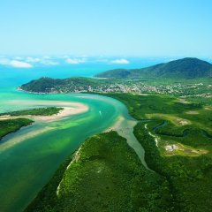 2 Day 1 Night Cooktown 4WD Adventure Aerial View Of Cooktown