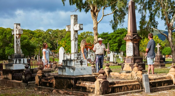 2 Day 1 Night Cooktown Trip | Cooktown Cemetery