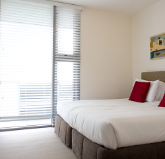 2nd Bedroom Harbour View Apartment - Cairns Luxury Apartments