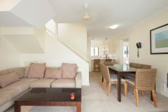 3 Bedroom Apartment Living Area -  Tropical Reef Apartments Port Douglas