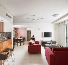 3 Bedroom Apartment Lounge - Mantra Trilogy Cairns