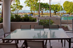 3 Bedroom Poolside Penthouse Balcony -  Cairns Luxury Apartments