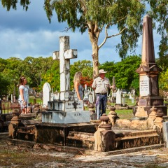 3 Day 2 Night Cooktown Tour | Cooktown Cemetery