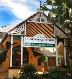 Conference Centre Entrance - Day